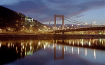Beautiful Erzsebet bridge